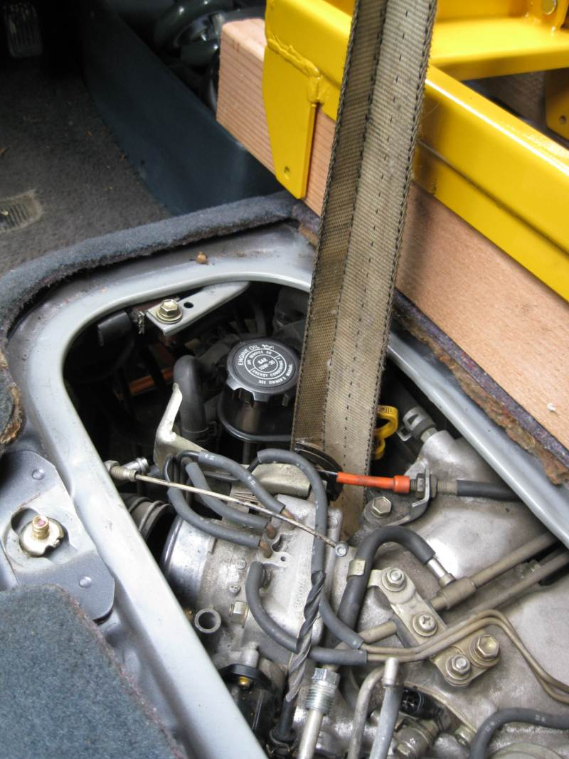 A Twist On Previa Engine Removal