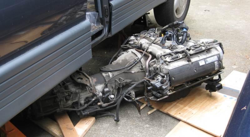 Toyota Previa Engine Removal
